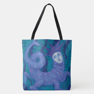 Melusine, Melusina, fantasy, surreal, water spirit Tote Bag