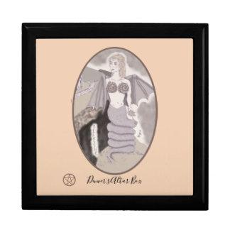 Melusine Serpent Goddess Pagan Witch Change BG. Co Gift Box