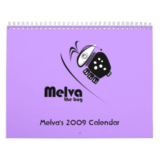 Melva's 2009 Calendar