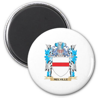 Melville Coat of Arms - Family Crest Refrigerator Magnets