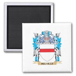 Melville Coat of Arms - Family Crest Fridge Magnets