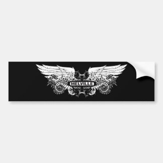 Melville ~ Herman American Novelist Writer Poet Car Bumper Sticker