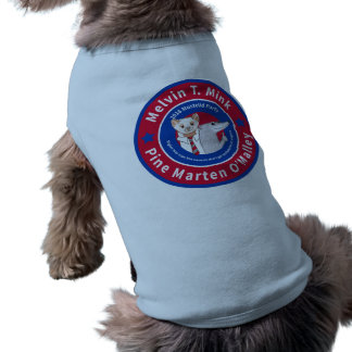 Melvin T. Mink doggie t-shirt
