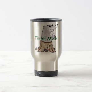 Melvin T. Mink travel mug
