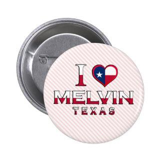 Melvin, Texas Button