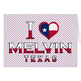 Melvin, Texas Greeting Card