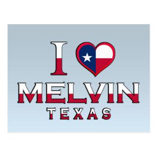 Melvin, Texas Postcard