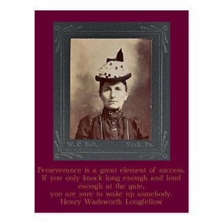 Melvina Jane (Rupp) Zarfos of York Co., PA Postcard
