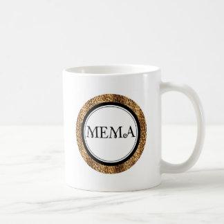 Mema... Leopard Style Classic White Coffee Mug