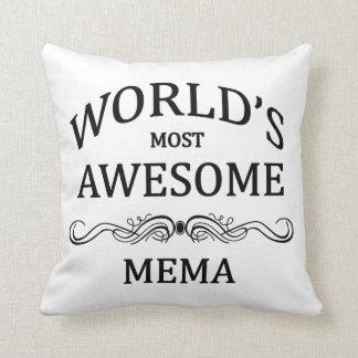 Mema más impresionante del mundo almohada