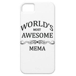 Mema más impresionante del mundo funda para iPhone 5 barely there