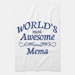 Mema más impresionante del mundo toallas de cocina
