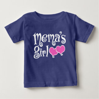 Mema's Girl Baby T-Shirt