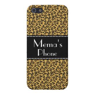 Mema's Phone Case - Leopard Style