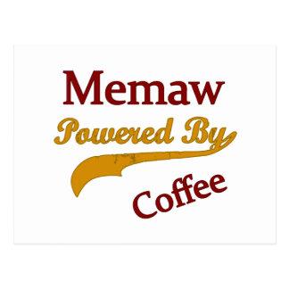 Memaw accionó por el café postales
