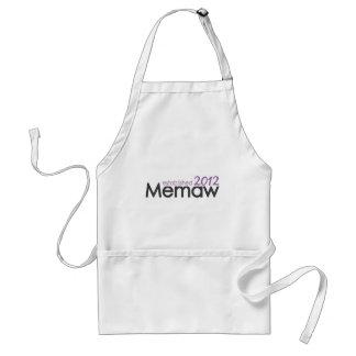 Memaw Established 2012 Adult Apron