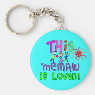 Memaw Grandmother Gifts Key Chains