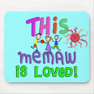 Memaw Grandmother Gifts Mousepad