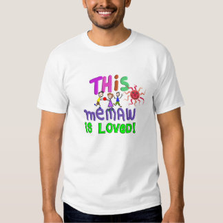 Memaw Grandmother Gifts T Shirts