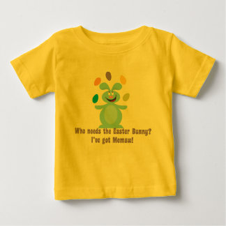 Memaw is My Easter Bunny Baby T-Shirt