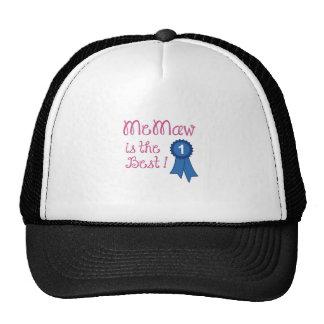 MEMAW IS THE BEST TRUCKER HAT