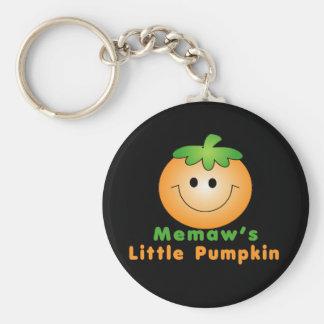 Memaw Little Pumpkin Keychain