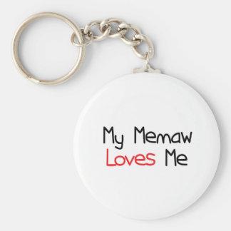 Memaw Loves Me Keychains
