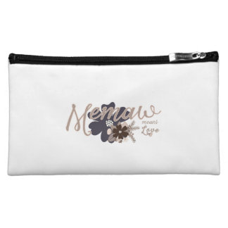 Memaw Means Love Cosmetic Bag