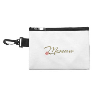 Memaw Pink Posey Accessory Bag