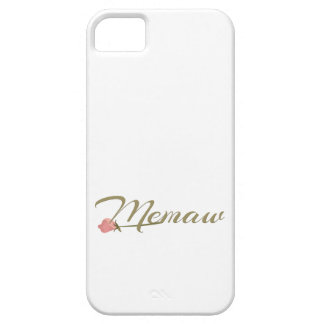 Memaw Pink Posey iPhone SE/5/5s Case