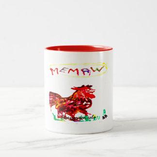 memaw Two-Tone coffee mug