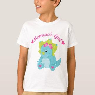 Memaws Girl Dinosaur T-Shirt