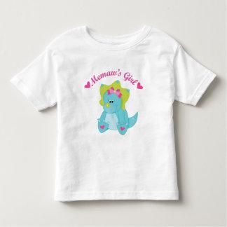 Memaws Girl Dinosaur Toddler T-shirt