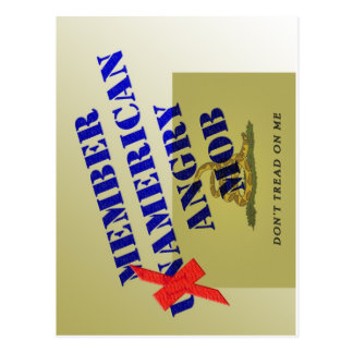 MEMBER American Angry Mob Post Card