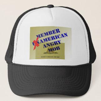 MEMBER American Angry Mob Trucker Hat