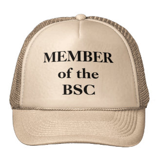 MEMBER of the BSC Mesh Hats