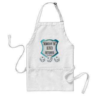 member of the bunco sisterhood adult apron