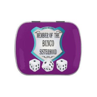 Member Of The Bunco Sisterhood Candy Tins