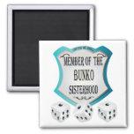 Member of the Bunko Sisterhood Fridge Magnets