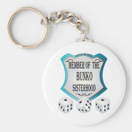 Member of the Bunko Sisterhood Key Chains