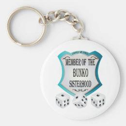 Member of the Bunko Sisterhood Keychain