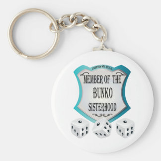 Member of the Bunko Sisterhood Keychain