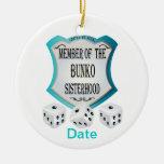 Member of the Bunko Sisterhood Ornament