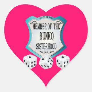 Member of the Bunko Sisterhood Stickers