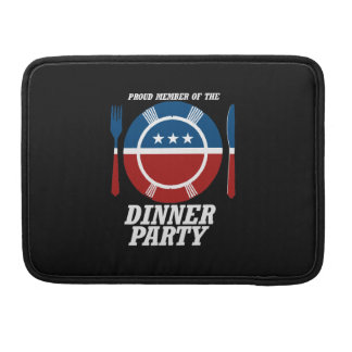 Member of the Dinner Party -.png Sleeve For MacBook Pro