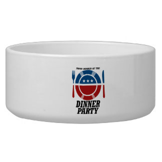 Member of the Dinner Party.png Dog Food Bowls
