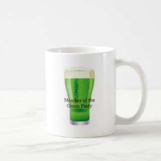 Member of the Green Party Beer St. Patrick's Day Mugs