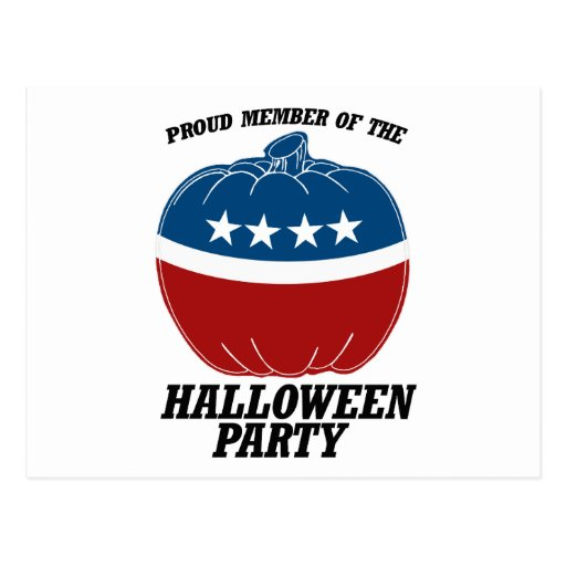 Member of the Halloween Party.png Post Cards