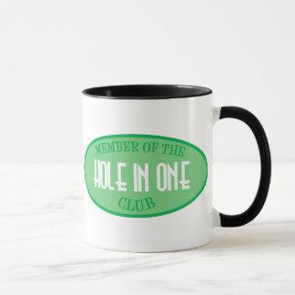 Member Of The Hole In One Club Mug