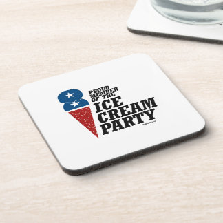 Member of the Ice Cream Party Coaster